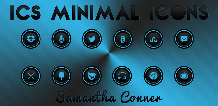 ICS Minimal Icons by sammyycakess