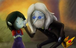 Simon and Marcy by WaterLily-Gems