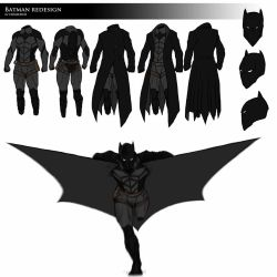 Batman REDESIGN by DomEddi