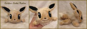 Eevee Palm Plush by The-Plushatiers