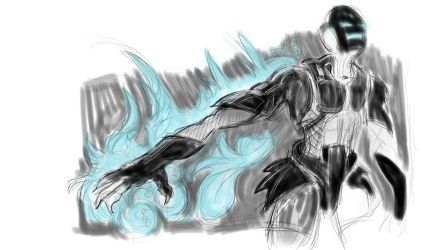 First New Wacom Sketch by garald4