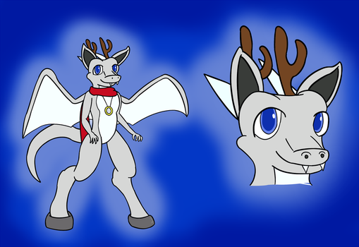 Sol the Dragon Sprite - Reference by solarknight99