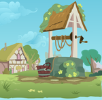 Ponyville Well by oxinfree