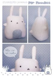 Mr Noodles Plushie by SquidPig