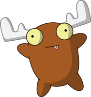 Gir's Moose by mattyhex
