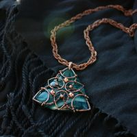 the Moor statement pendant by WhiteSquaw