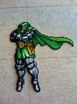 Dr. Doom Bead Sprite by Night-TAG