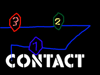 3-2-1 Contact 1980-1987 logo by PikachuxAsh