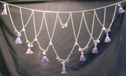 Violet Tassels by MetallicVisions