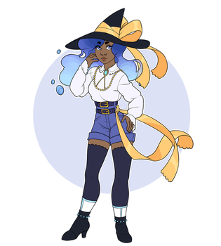 Water witch adoptable - OPEN by jennaforever77