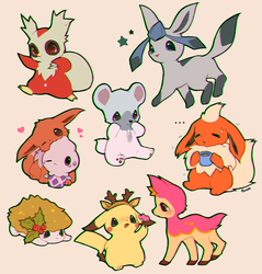Pokemon by foxlett