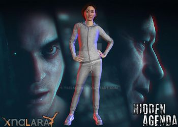 (PS4) Hidden Agenda - Felicity Graves by TSelman61