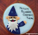Dumbledore Puppet Pal Embroidery by iggystarpup