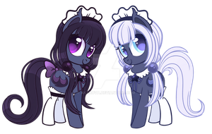 Twin Maids Auction [Closed] by AkaNova