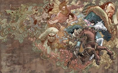 The Legend of the Condor Heros by daxiong