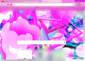 Google Chrome Pinkie Pie Theme by Acinoriv8