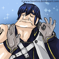 FE:A - Chrom, it's ''just right'' to take a nap! by Loustica