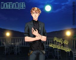 Nathaniel pack de expresiones by NatsumeHajime