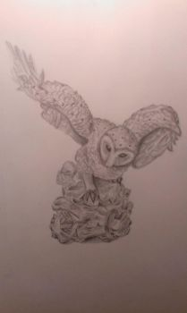 Still Life Owl by Livvy97