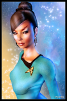 Star Fleet Officer T'Pring by mylochka