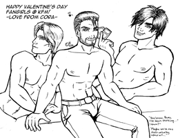 Valentine's day boys by NeitiCora