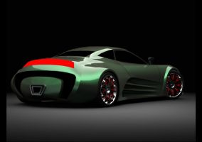 Concept car E045 by ely862me