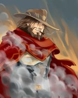 Jesse McCree by Ka-ren