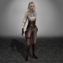 BloodMasque Ciara Le Fanu by ArmachamCorp