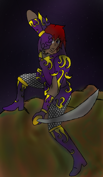 Soldier of the Night  by DarkMagician873