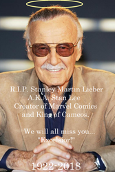 R.I.P. Stan Lee by boogeyboy1
