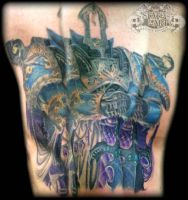 Thousand Sons WIP by state-of-art-tattoo