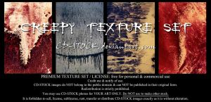 Creepy Texture Set by CD-STOCK by CD-STOCK