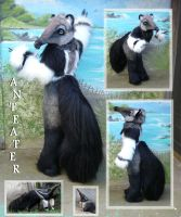 Anteater fursuit by LilleahWest