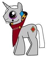 MLP: Ghirahim the Unicorn by MidnaCookies1425