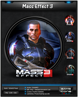 Mass Effect 3 - Icon Pack by 3xhumed