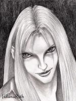 A Younger Sephiroth by IsilanaRith