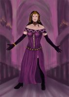 Liliana of the Veil WIP by STsung