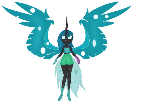 Equestria Girls  chrysalis by nms2002