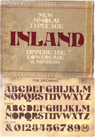Inland Typeface ttf by mmolai