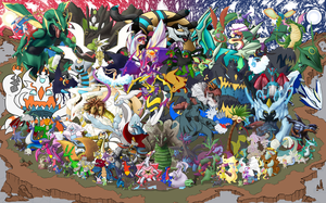 Gotta Draw 'em All: Dragon Type Collab by Marche-Towers