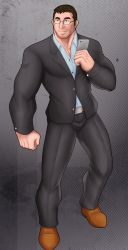 [COMMISSION] SUIT GUY by rhimes1999