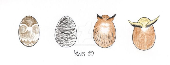 Fowl Egg Adopts 4 - 1/4 OPEN by KrestenaWolfShadow