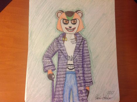 Pancho as the Joker by Nsokolow