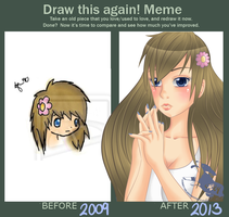 Draw this again challenge! by oBby190