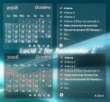 Lucid 2 for Rainlendar 2 by Meekch