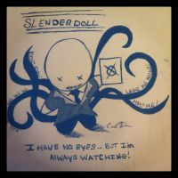 Slender Doll Is Watching!! by Catnap2020