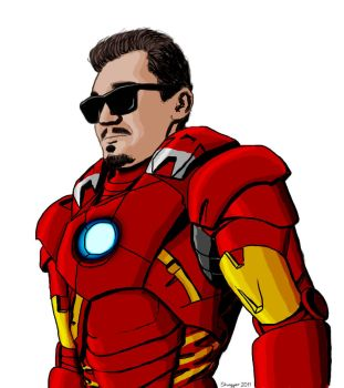 Iron Man Mark VII by ShVagYeR