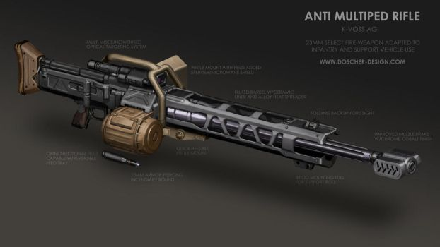 Anti Multiped Rifle by MikeDoscher