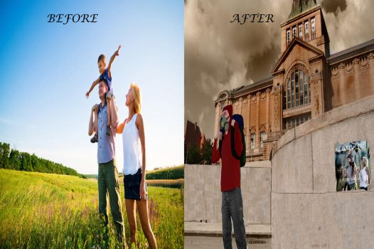 School's Out -Before and After- by dan-knauff