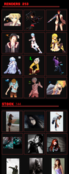 Pack 100 Users ArtConection ~ by LuchoD7